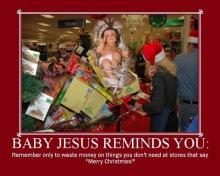 Baby Jesus Says...