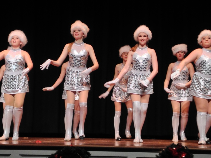 Tappin' as a Rockette!